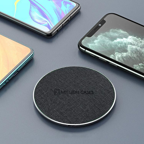 15W Wireless Charger In Cloth Texture