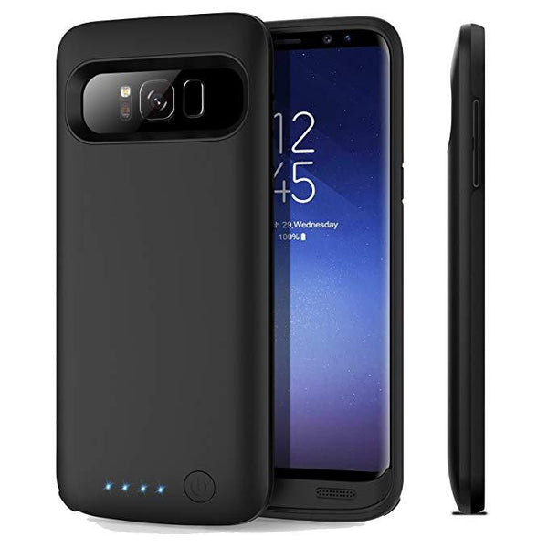 JLW Galaxy S8 Plus Portable 6000mAh Battery Shell Case