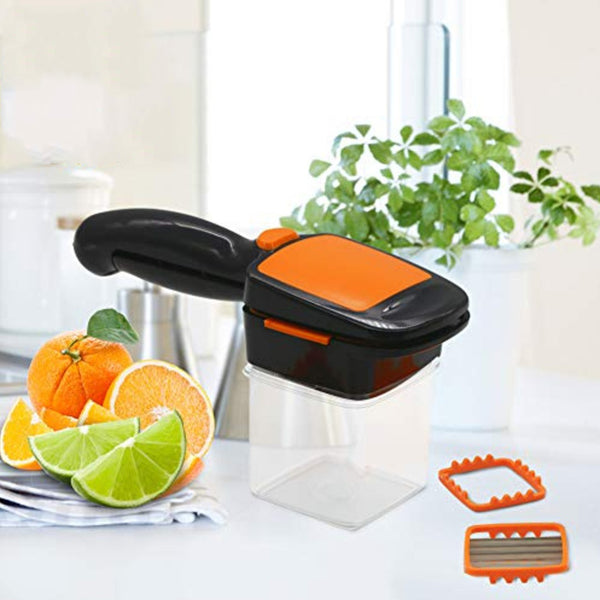 (2 in 1 Combo) Vegetable Chopper + Vegetable Cutter