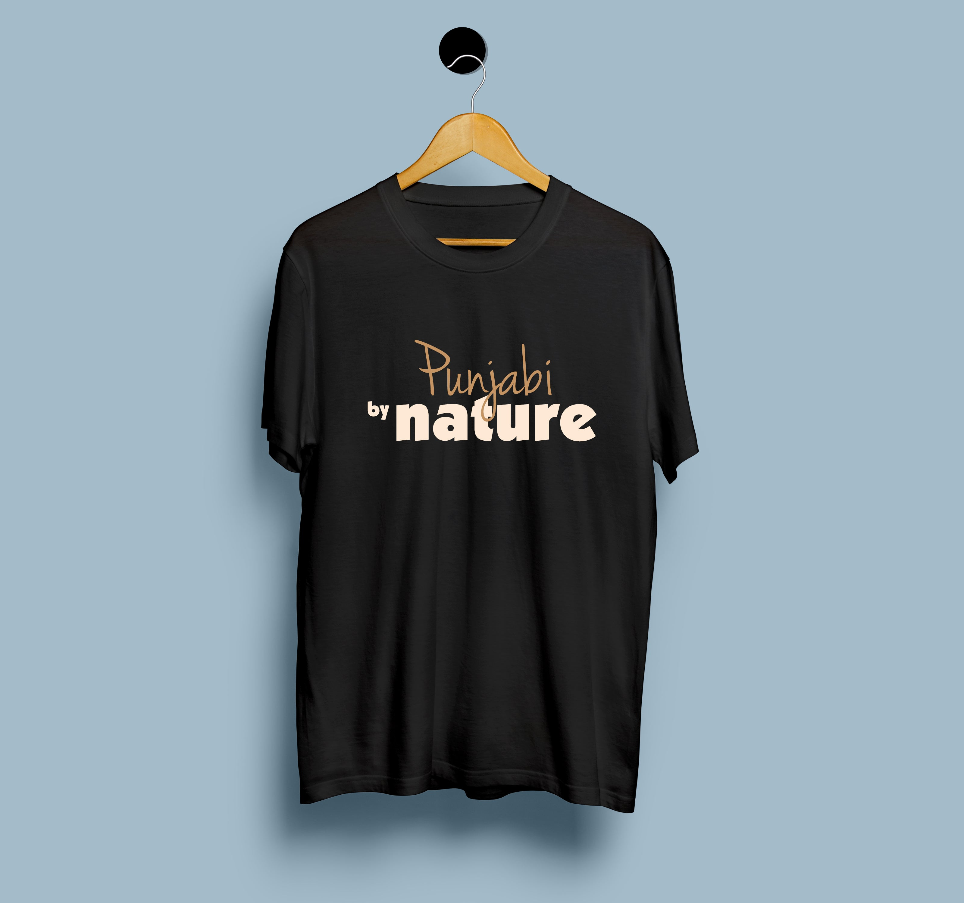 Punjabi by Nature - Men T-Shirt