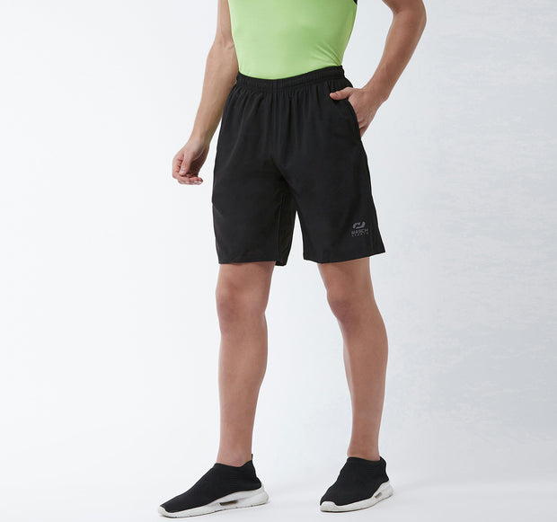 Black - Men Shorts