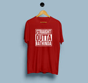 Straight Outta Bathinda  - Men T-Shirt
