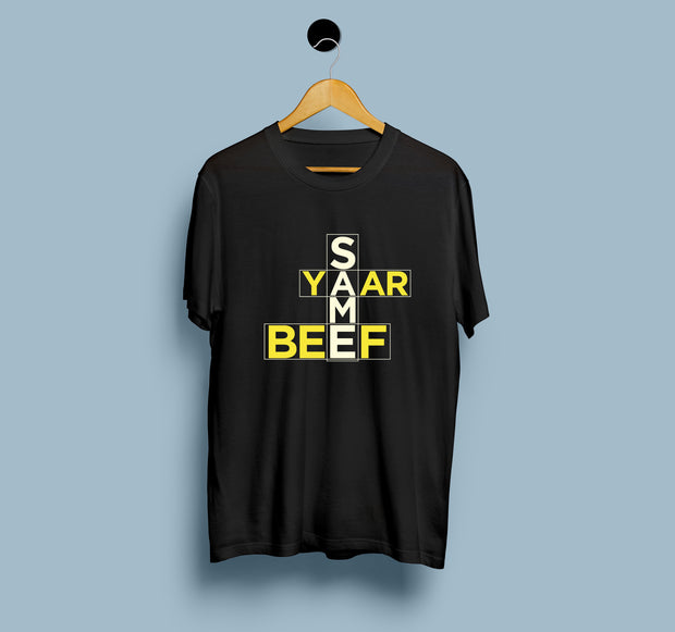 Same Yaar Same Beef - Sidhu Moosewala - Men T-Shirt