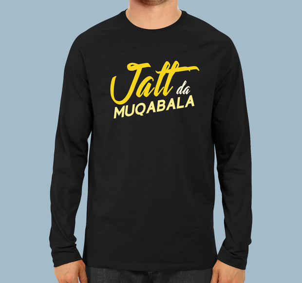 Jatt Da Muqabla - Men Full Sleeves T-shirt