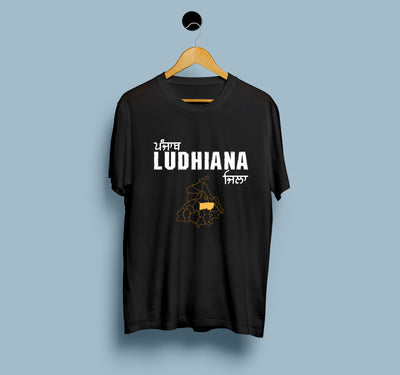 Punjab Ludhiana District - Men T-Shirt