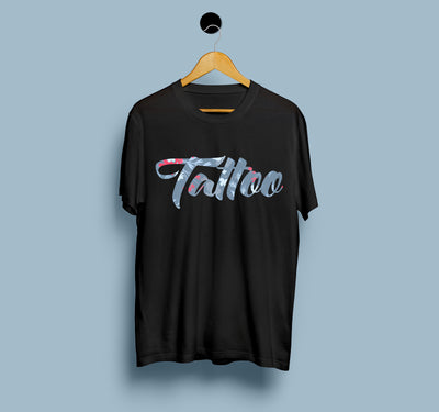 Tattoo - Nawab Ft. Gima Ashi - Men T-shirts On Sale