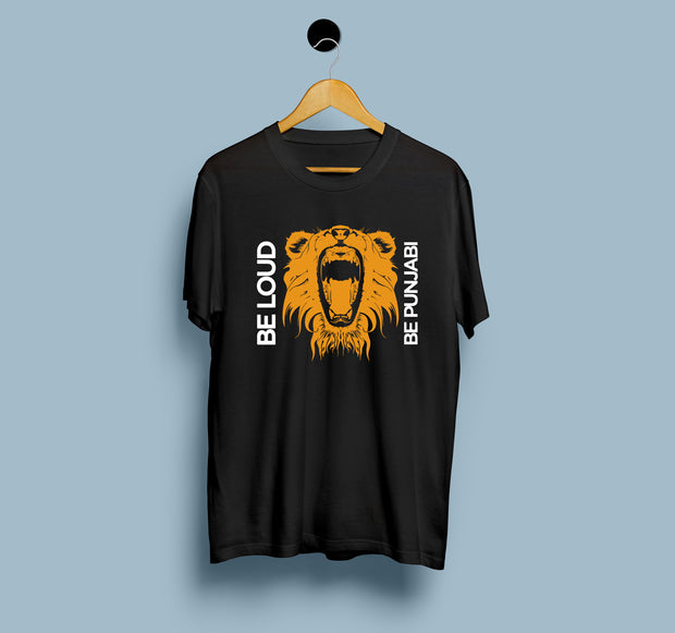 Be Loud Be Punjabi - Men T-Shirt