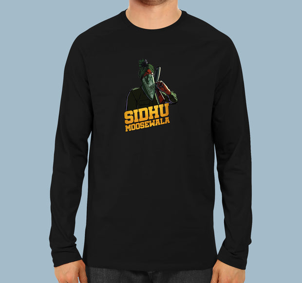 Sidhu Moose Wala logo - Men T-Shirt