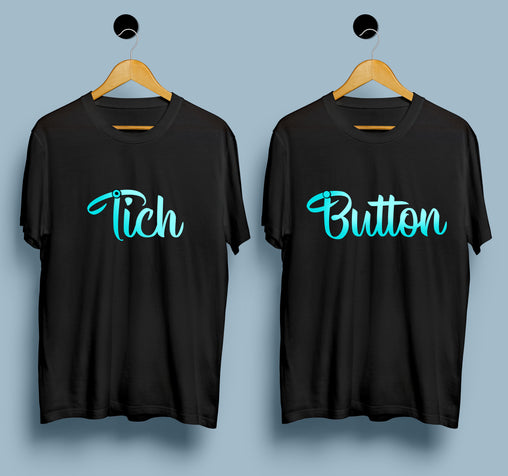 Couple T-shirts - Tich Button