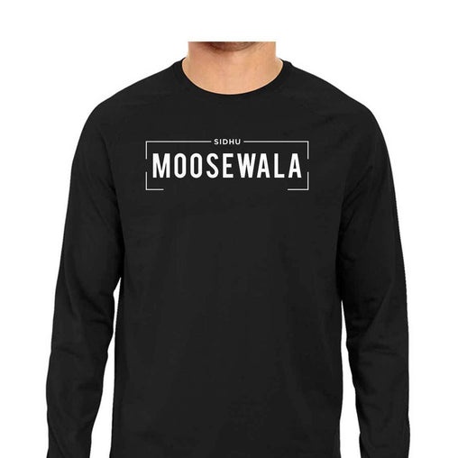 Sidhu Moosewala - Men Full Sleeves T-shirt