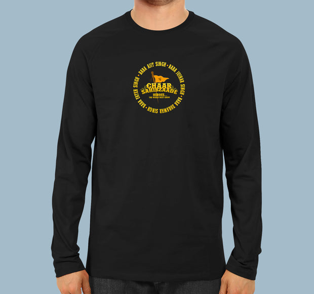 Chaar Sahibzaade - Full Sleeves Punjabi Men T-shirt