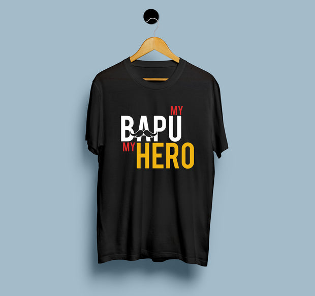 My Bapu My Hero - Men T-shirt