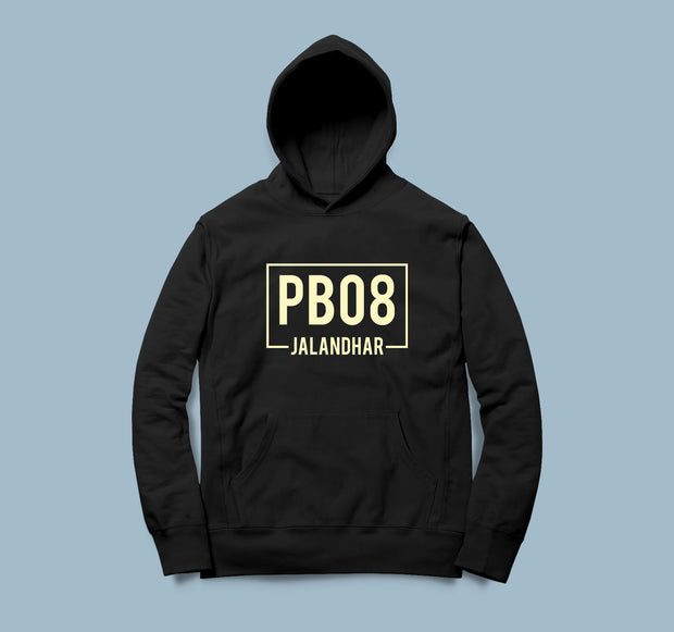 PB08 - Men Punjabi Hooded Sweatshirt