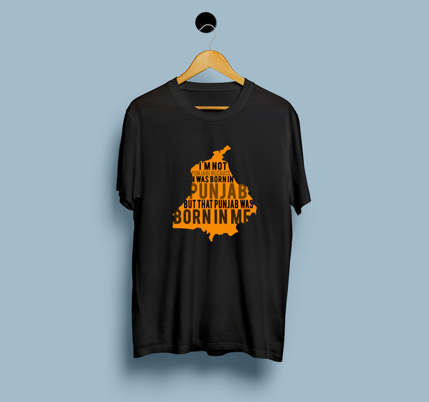 Punjab Born - Men T-Shirt
