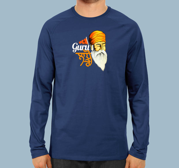 Guru Teg bahadur Ji 400 Sala - Men Full Sleeves T-shirt