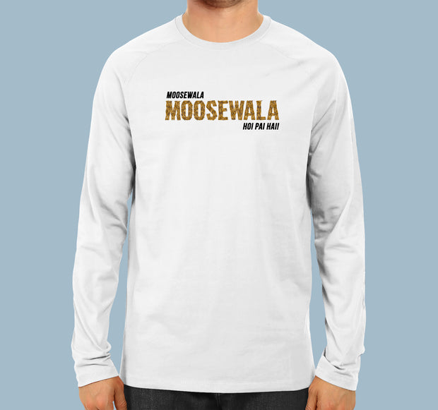 Sidhu Moosewala Hoi Pai Hai  - Men Full Sleeves T-Shirt