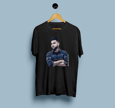 Karan Aujla Picture - Men T-shirts