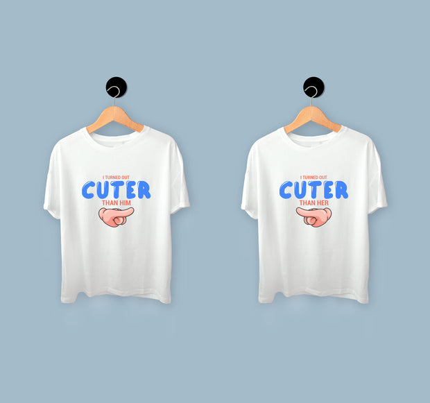 Brother And Sister T shirts - Turned Out Cuter T-shirts