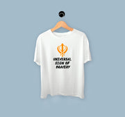 Universal Sign Of Bravery - Kids T-shirt