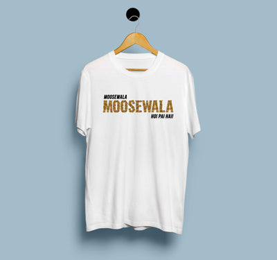 Sidhu Moosewala Hoi Pai Hai  - Men T-Shirt