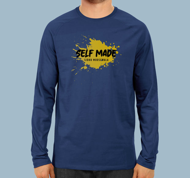 Self Made - Men Full Sleeves T-shirt