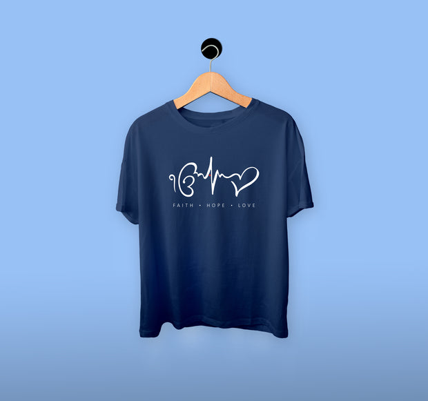 Ik Onkar - Faith | Love | Hope - Boy T-shirt