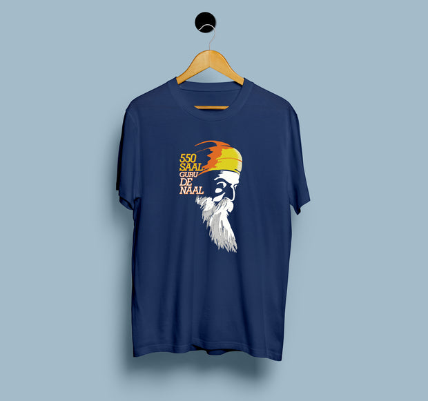 550 Saal Guru De Naal - Men T-shirt