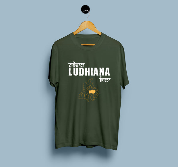 Ludhiana Map - Men T-Shirt