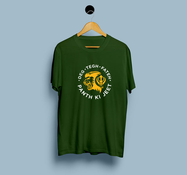 Deg Tegh Fateh Panth Ki Jeet - Men T-Shirt