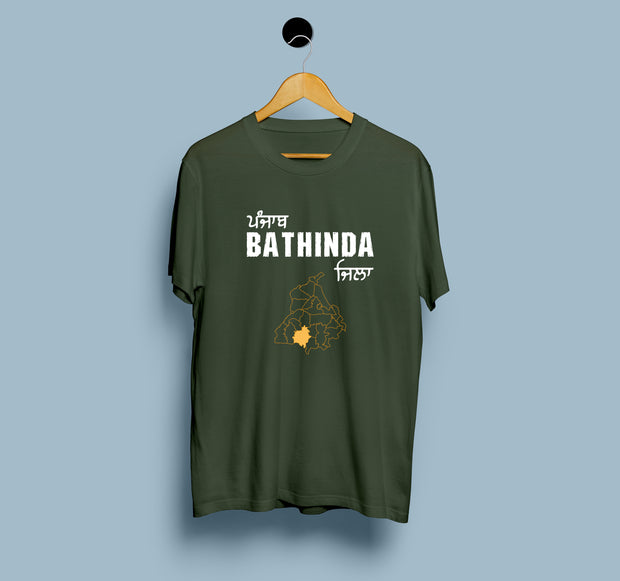Punjab Bathinda District - Men T-Shirt