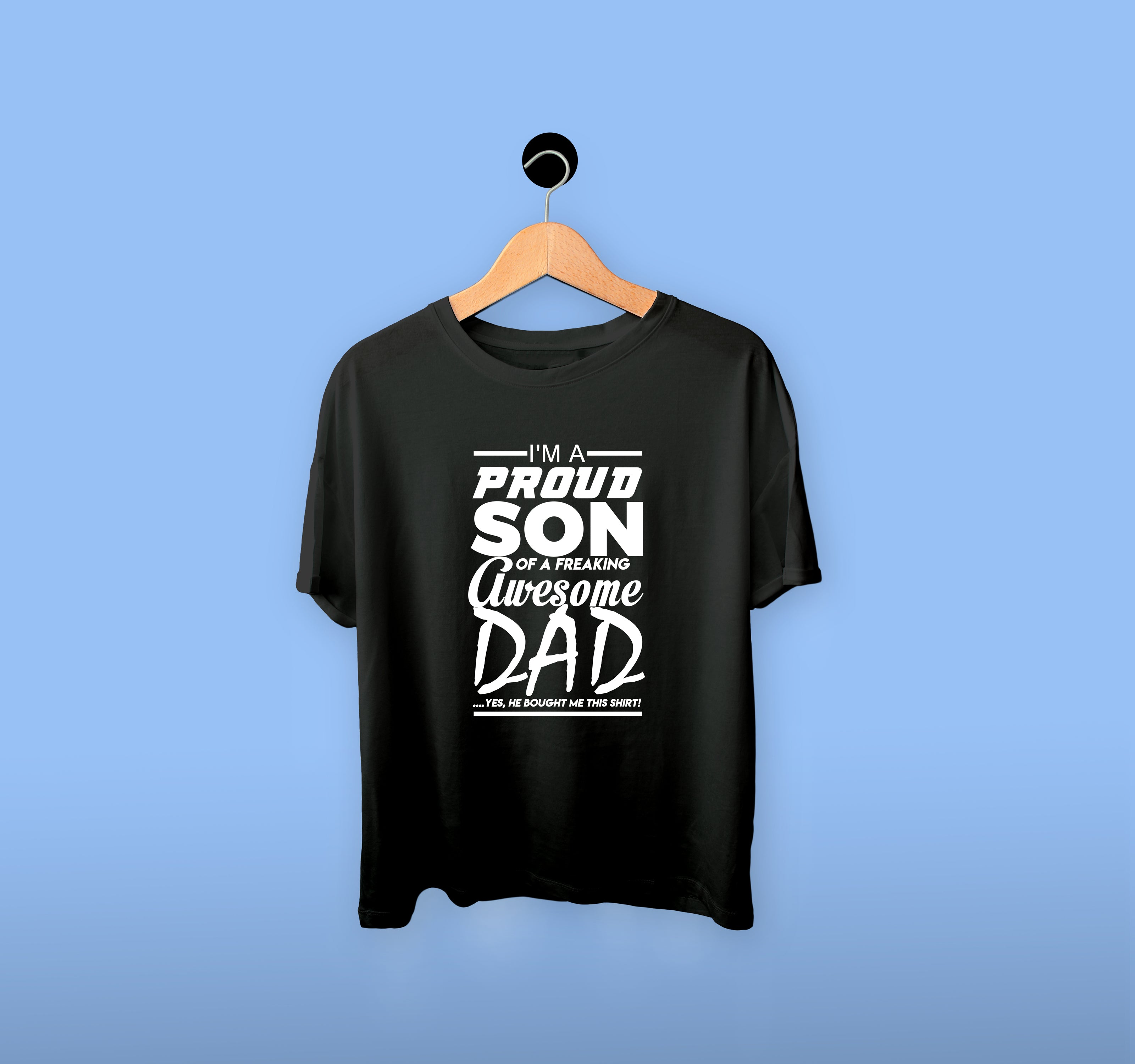 Proud Son Awesome Dad T-Shirt