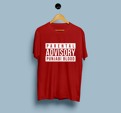 Parental Advisory Punjabi Blood - Men T-Shirt