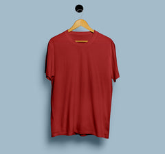 Plain Cotton T-shirts - Men