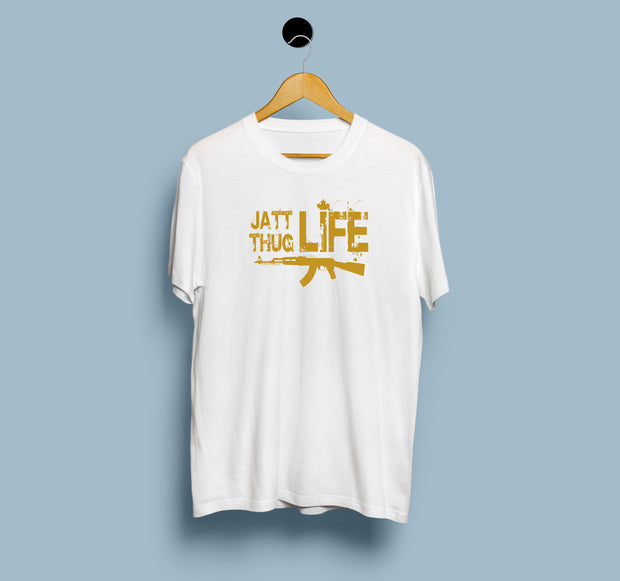 Jatt Thug Life - Men T-Shirt