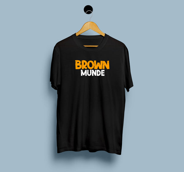 Brown Munde - Men T-Shirt