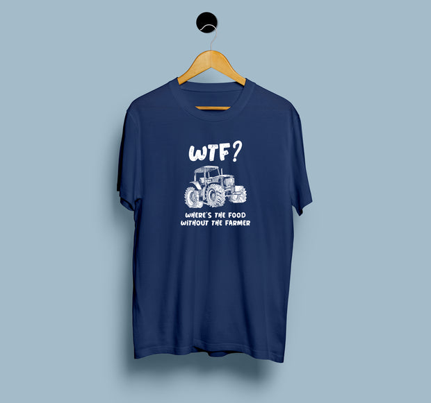 Where's the Food Without Farmers - Men T-shirt