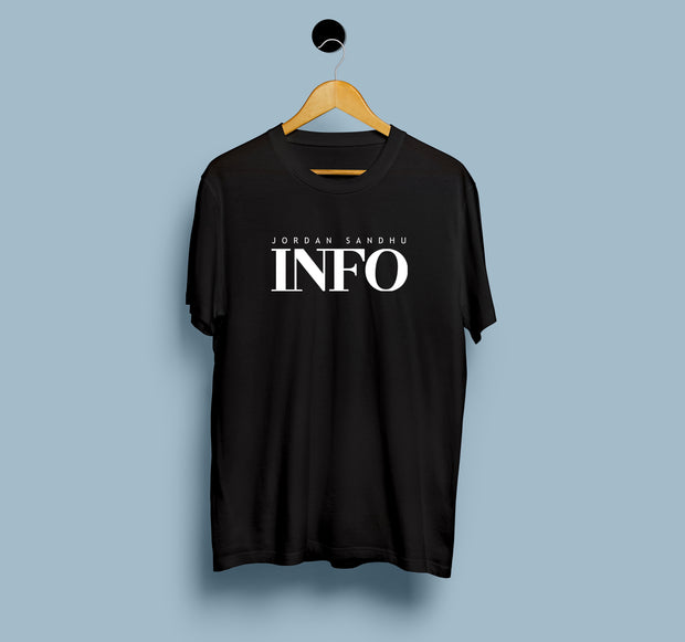 Jordan Sandhu - INFO - Men T-Shirt
