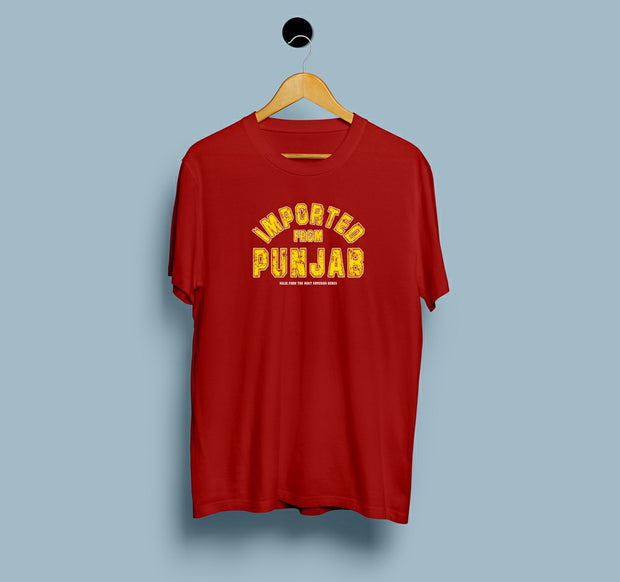 Imported From Punjab - Men T-Shirt