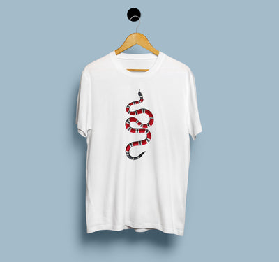 Gucci Snake Sticker - Men T-Shirt