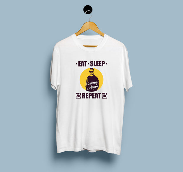 Eat. Sleep. Karan Aujla. Repeat - Men T-Shirt
