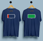 Mobile Battery - Couple T shirts