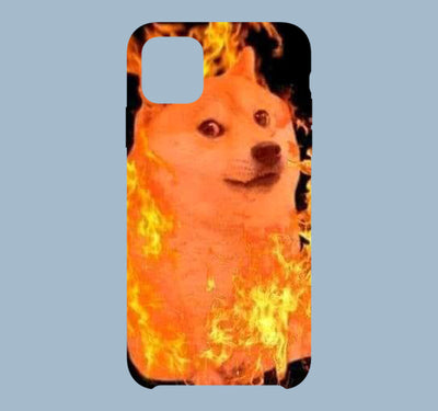 iPhone 11 Pro - Dog Fire Mobile Cover