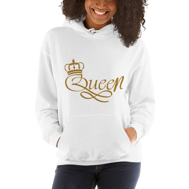 Queen Women Blend Hooded Sweatshirt