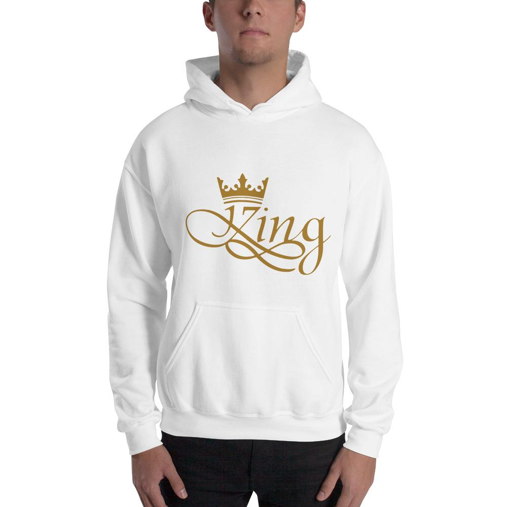 King Men Heavy Blend Hooded Sweatshirt