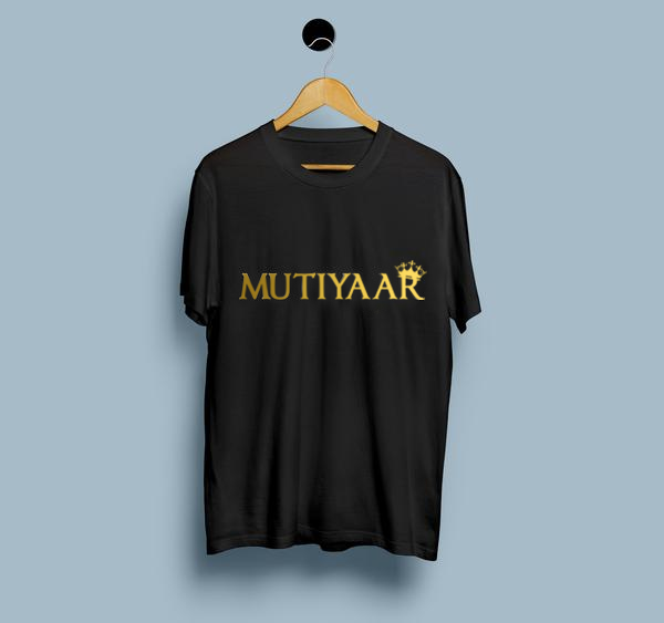 Mutiyaar T-shirts - Golden