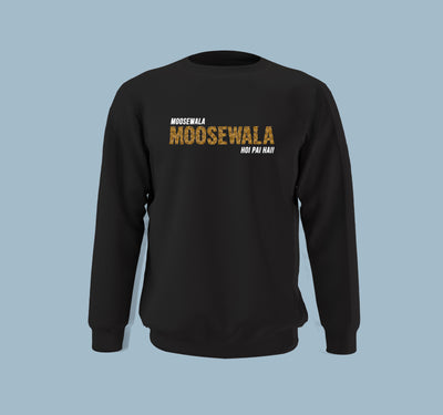 Moose Wala Hoyi Payi - Men Sweatshirt