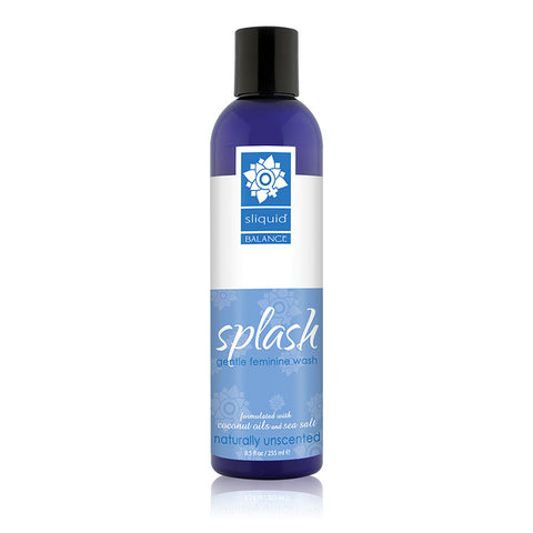 Sliquid Splash Intimate Wash Unscented 8.5oz