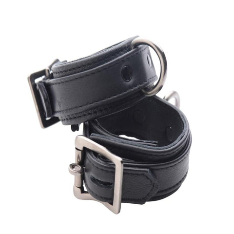 Strict Leather Luxury Locking Ankle Cuffs