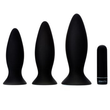 A&E Rechargeable Vibrating Anal Training Kit