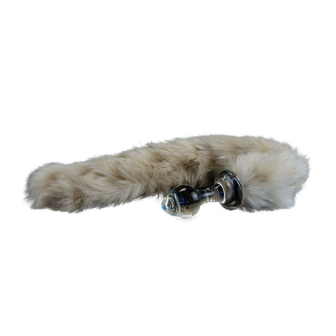 Crystal Delights Minx Tail Plug - Natural Colors